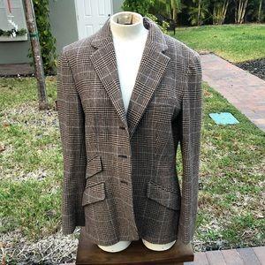 Ralph Lauren wool preppy style Blazer -size 10